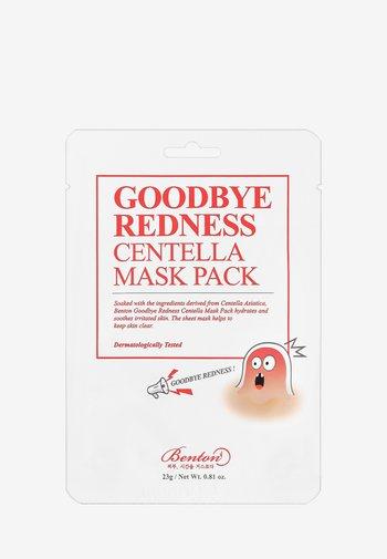 GOODBYE REDNESS CENTELLA MASK 3 UNITS - Ansiktsmask - -