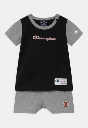 BASKET GAME SET UNISEX - T-shirt con stampa - black