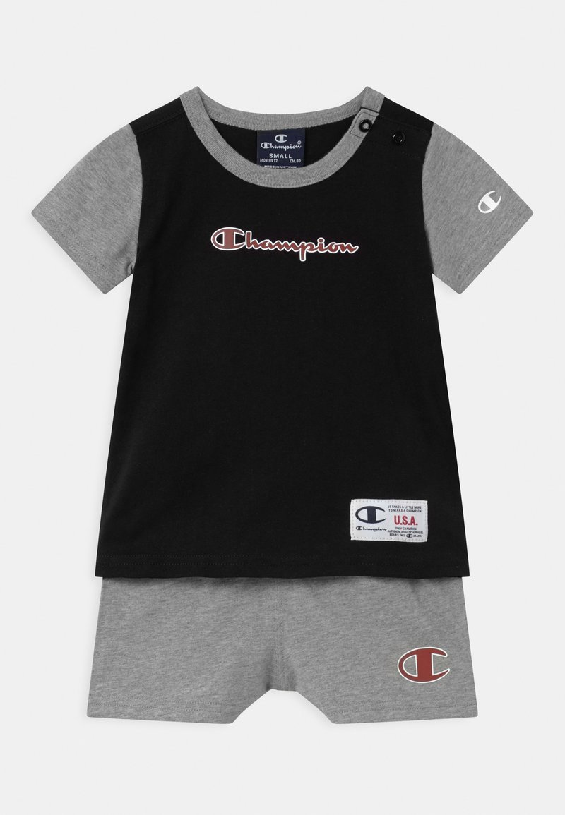 Champion - BASKET GAME SET UNISEX - T-shirt imprimé - black