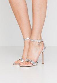 Trussardi Jeans - High heeled sandals - silver - 0
