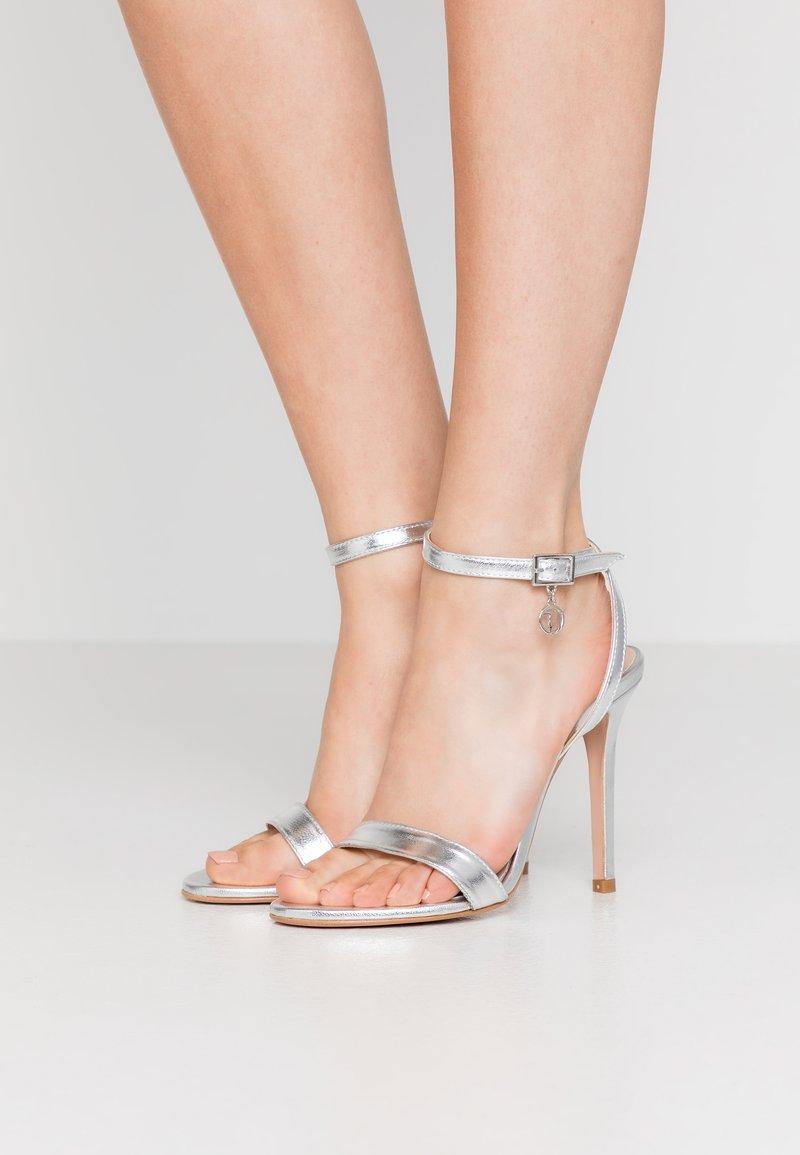 Trussardi Jeans - High heeled sandals - silver