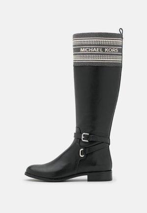 ALDRIDGE BOOT - Vysoká obuv - black/camel