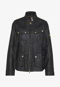 THUNDERBOLT CASUAL - Summer jacket - black