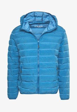 MAN JACKET FIX HOOD - Outdoor jacket - denim
