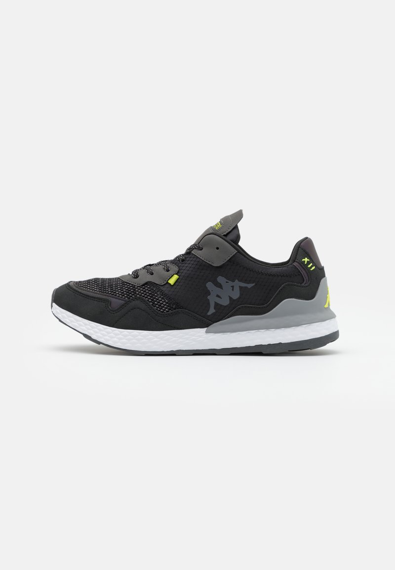 Kappa - LAVERTON UNISEX - Sports shoes - black/lime