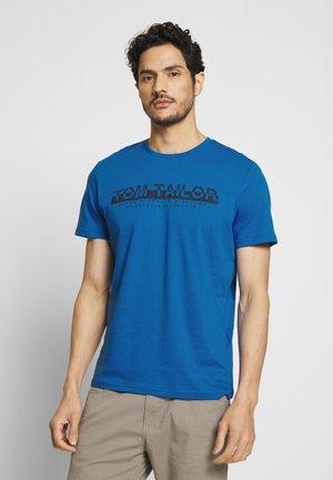 Print T-shirt - victory blue