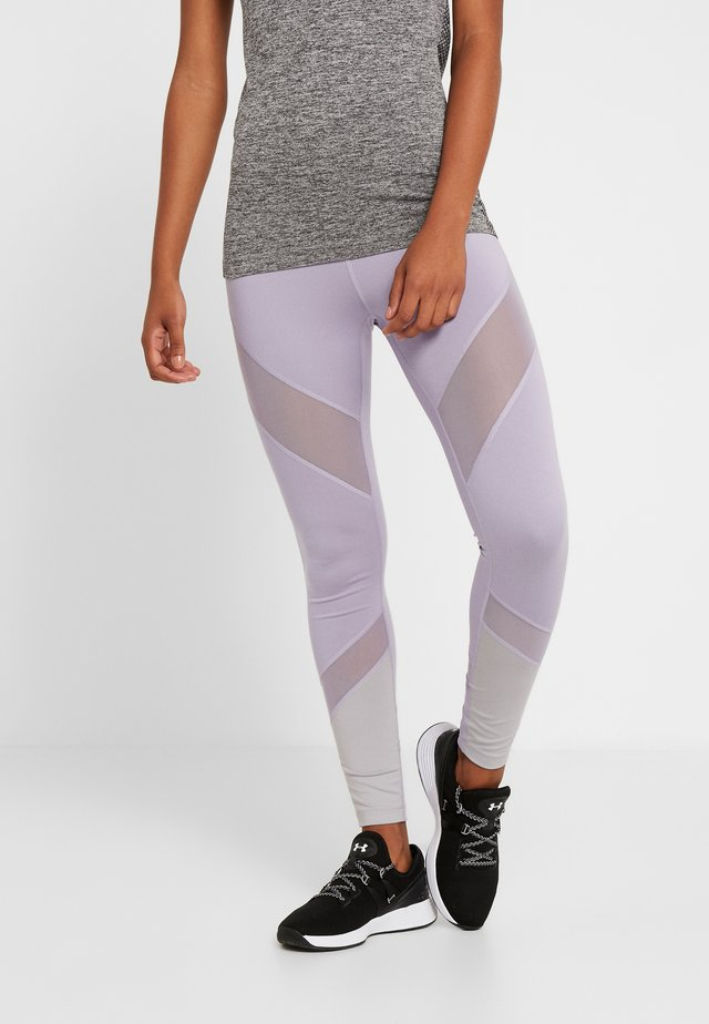 Leggings - silver/lilac