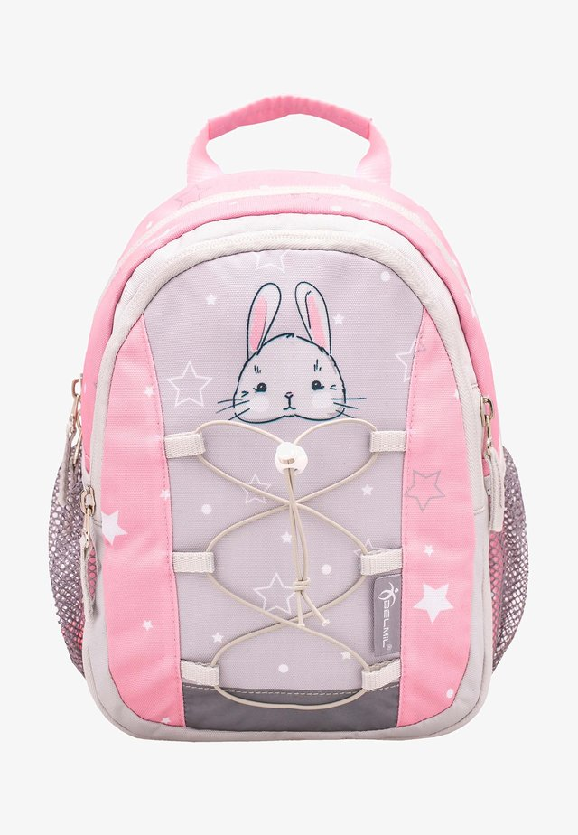 MINI KIDDY - Rucksack - beige  light pink