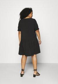 Pieces Curve - PCGENEVA DRESS CURVE - Day dress - black - 2