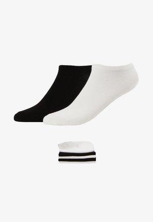 7 PACK - Strumpor - white/black