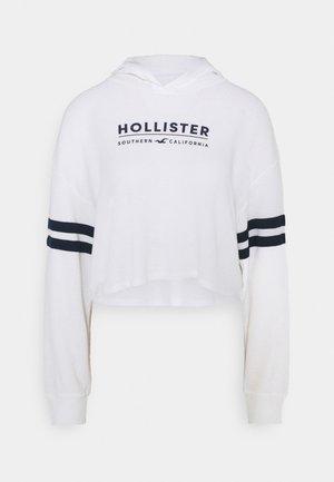HOODIE - Maglietta a manica lunga - white