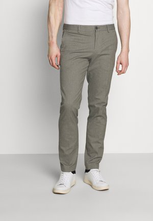 FLEX PANT - Trousers - beige/grey