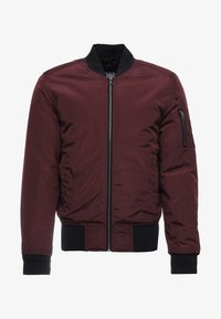 Urban Classics - Bomber Jacket - burgundy/black - 3
