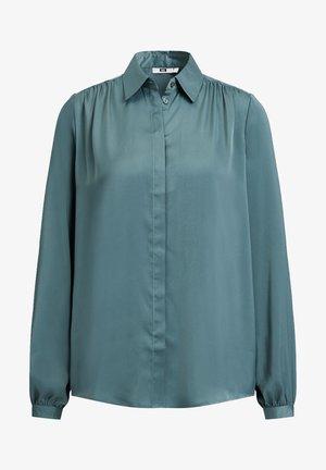 Button-down blouse - army green