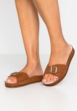 ANOUSHEH - Pantofle - camel