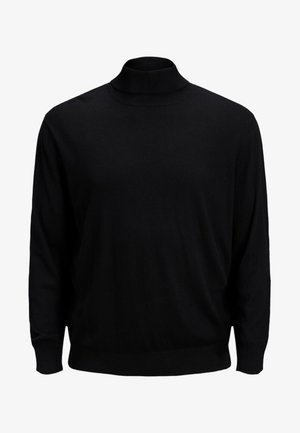 JJEEMIL ROLL NECK - Sweatshirt - black