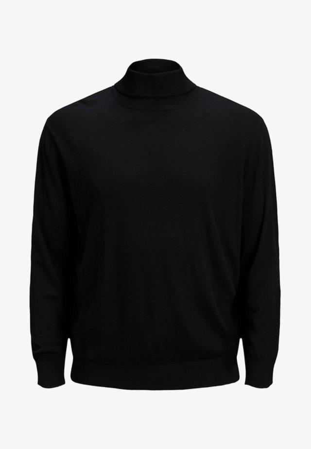 JJEEMIL ROLL NECK - Sweatshirt - black