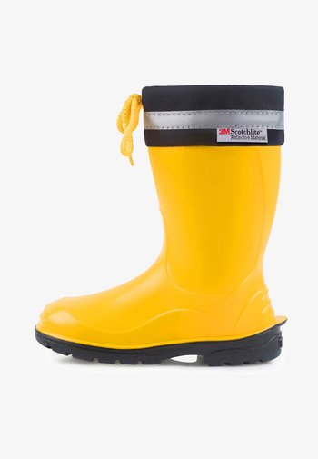 Wellies - yellow/black