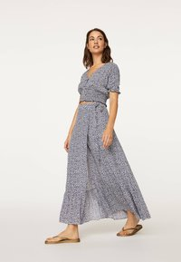 OYSHO - A-line skirt - blue - 3