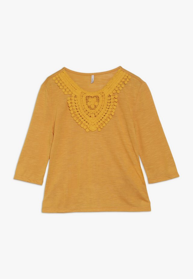 KONISA 3/4 - Long sleeved top - cadmium yellow