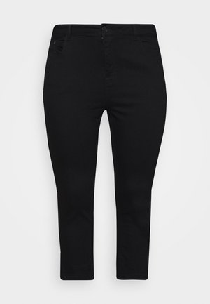 CROP - Jeans Skinny Fit - black