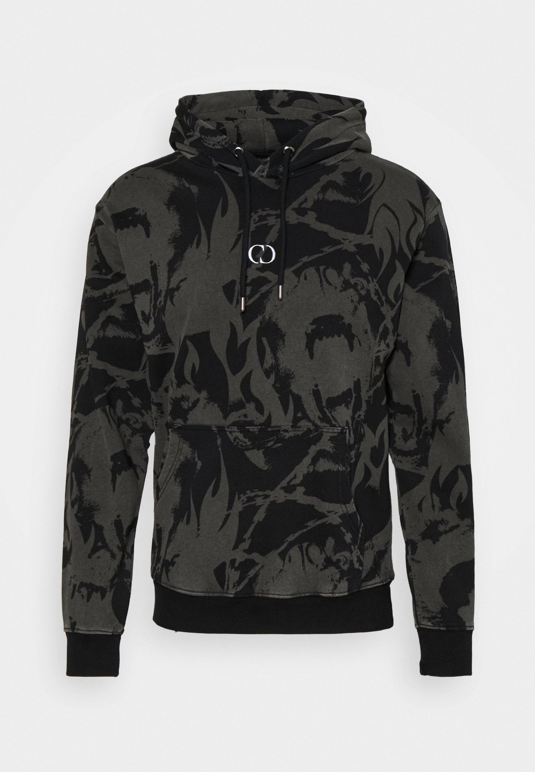 Men ABSTRACT HOOD - Sweatshirt
