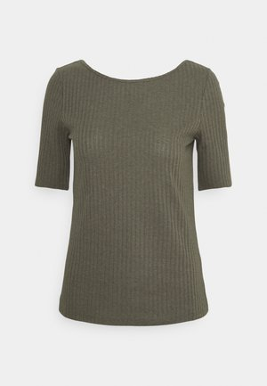 POINTELLE - T-shirt con stampa - light khaki