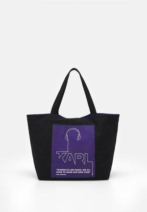 VOICES MUSIC SHOPPER - Tote bag - purple