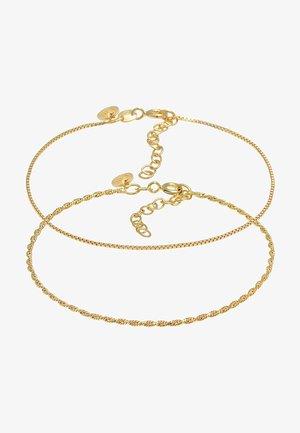 2 SET - Armband - gold
