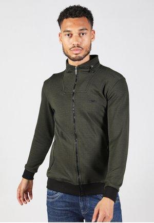 Zip-up sweatshirt - army
