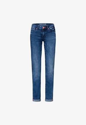 RO:MY MIT USED-OPTIK  - Straight leg jeans - medium blue used