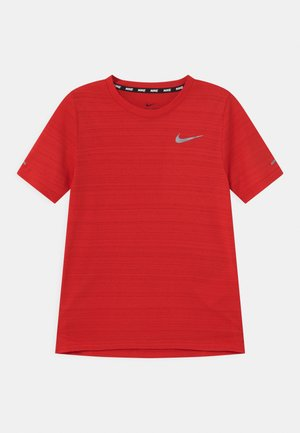 MILER - T-shirt basic - university red