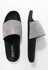 Skechers Sport - POP UPS - Mules - black /iridescent - 3