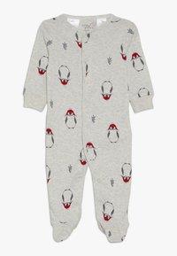 Carter's - PENGUIN BABY - Pyžamo - grey - 0