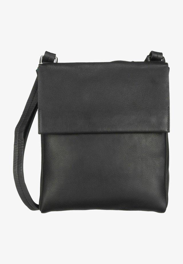 CAMPO PLAID - Across body bag - schwarz