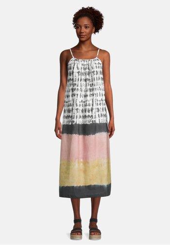 SOMMEROHNE ARM - Day dress - grau/rosa