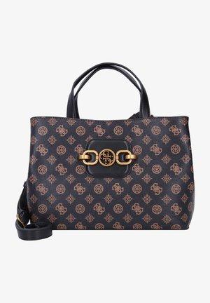 HENSELY - Handbag - mocha multi