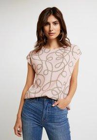 Anna Field - Print T-shirt - pale mauve - 0