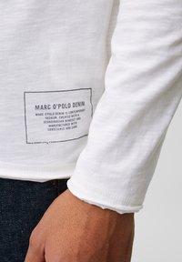 Marc O'Polo DENIM - Long sleeved top - scandinavian white - 4