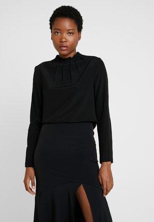 NECK DETAILED - Bluse - black