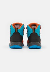 Hi-Tec - CARNIVAL WP JR UNISEX - Hiking shoes - light blue/orange - 2