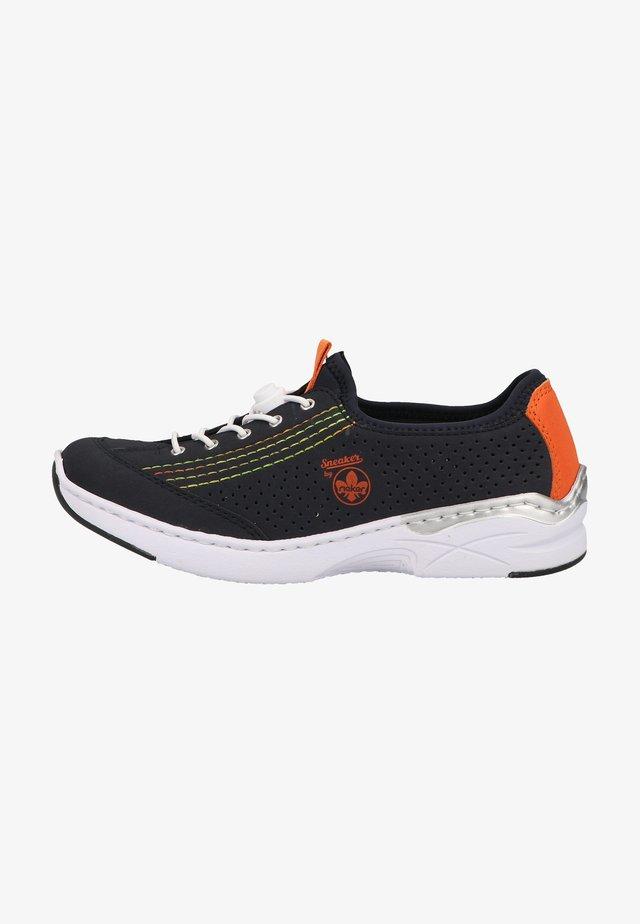 Chaussures à lacets - pazifik/orange/navy