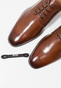BOSS - KENSINGTON - Smart lace-ups - medium brown - 5