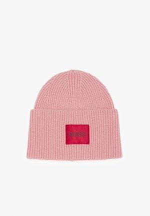 XAFF RIBBED LOGO - Bonnet - dark pink