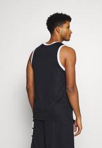 Nike Performance - STARTING FIVE - Funkční triko - black/white - 2