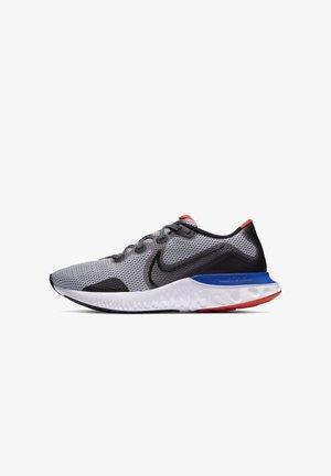 RENEW RUN - Hardloopschoenen neutraal - grey fog/racer blue/chile red/black