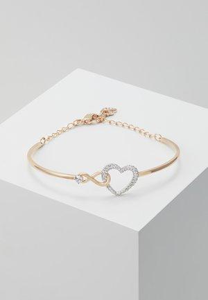 INFINITY BANGLE - Armband - rose gold-coloured