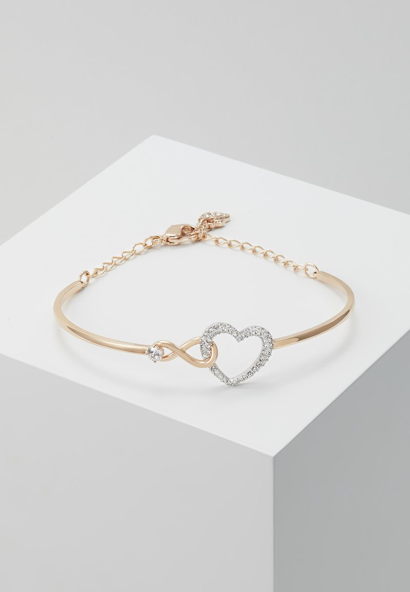 Swarovski - INFINITY BANGLE - Náramek - rose gold-coloured