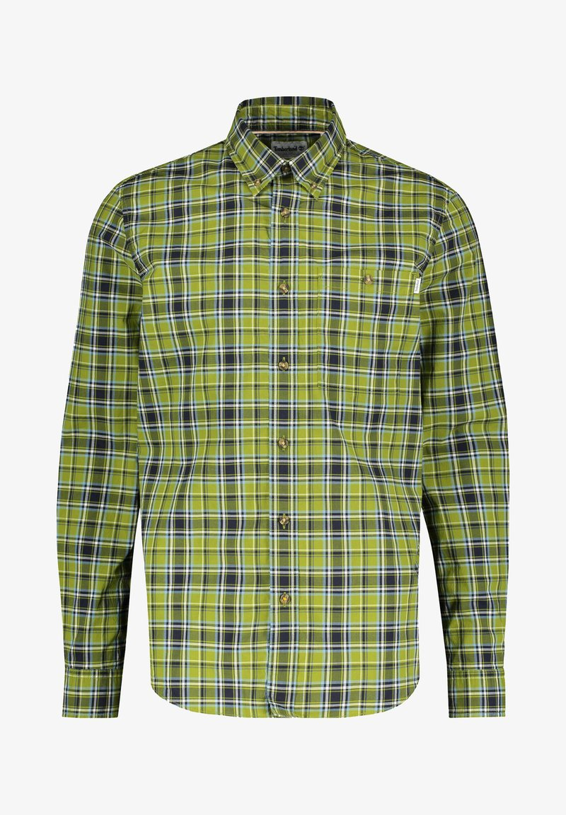 Timberland - LANGARM - Shirt - olive