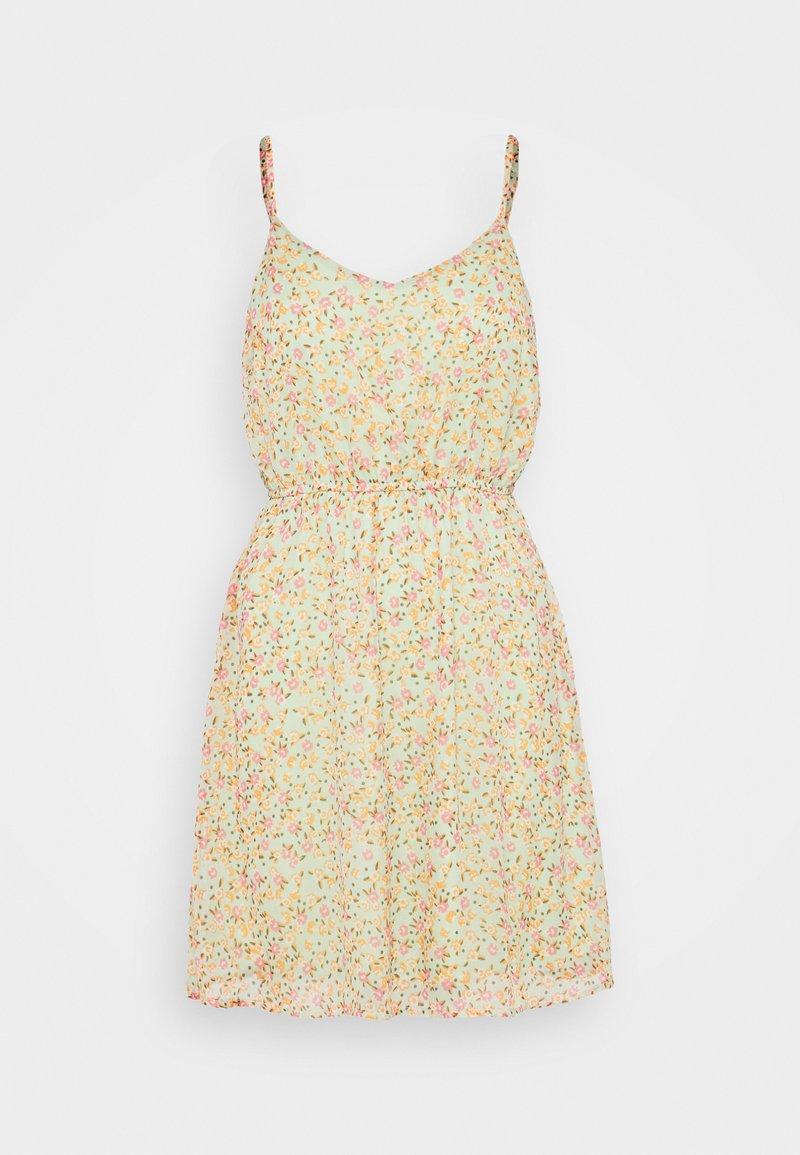 Vero Moda Petite - VMKAY SINGLET SHORT DRESS PETITE - Kjole - laurel green